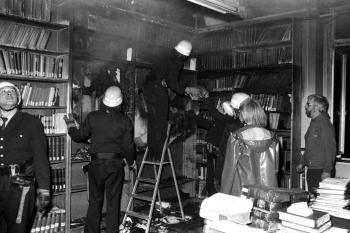 19780519 Feuer Skandinavisches Seminar