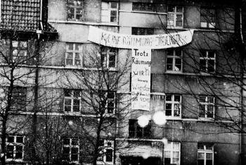 19800100 Haus Räumung Plakat