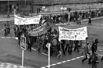 19800207 Demo gegen Klinikum 2
