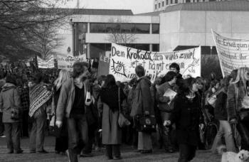 19800207 Demo gegen Klinikum 3