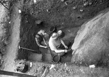 19800802 Ausgrabungen Reinhausen 2
