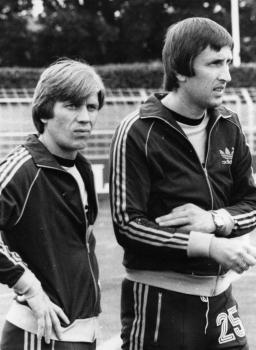 19800807 Göttingen 05,Trainer Latermann, Wiegand