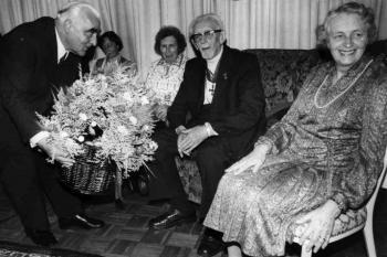 19811011 Professor Seedorf 100 Jahre