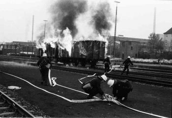 19811103 Übung BF Bahnwehr
