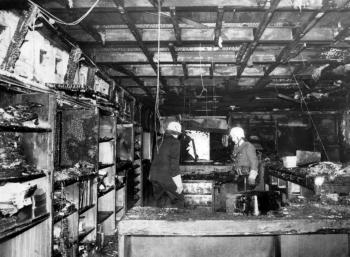 19811109 Feuer Deutsche Bank Geismar 1