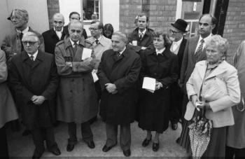 19821014 Grundstein Krankenhaus Weende