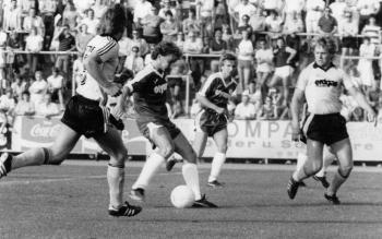 19830712 Göttingen 05 gegen Werder Bremen, Völler