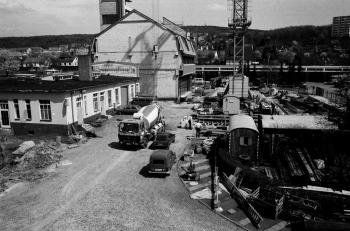 19830715 Abriss, Neubau Feuerwache 1