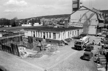 19830715 Abriss, Neubau Feuerwache