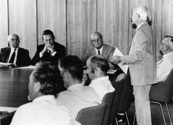 19830801 Uni, Forstliches Institut, Cassens, Kamp