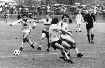 19840114 Göttingen 05 - Hertha BSC Pokal 0-1,Klein