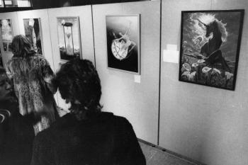 19840321 Laienmalerei Ausstellung im Neuen Rathaus