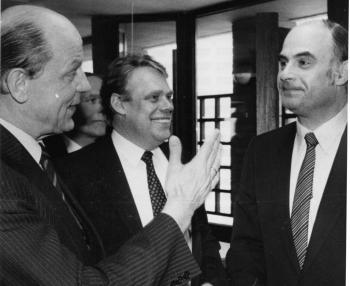 19840402 Einweihung Finanzamt Kallmann, Engelhardt