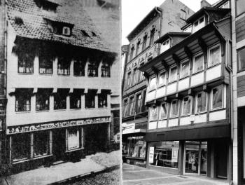 19840515 Ältestes Fachwerkhaus 1276, Rotestr.25