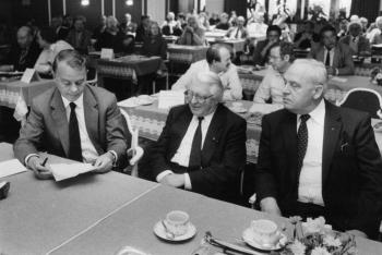 19840910 Ministerpräsident Albrecht,Döring,Eckhold