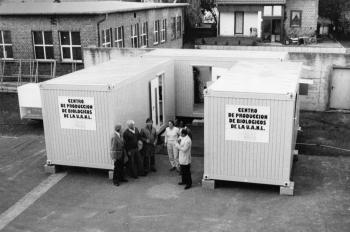 19841018 Laborcontainer für Vakzineherstellung