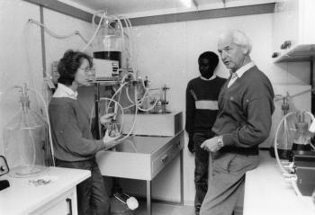 19841018 Laborcontainer für Vakzineherstellung, Prof.Seifert