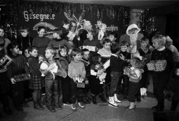19841217 Weihnachten,Friedland, Hasselmann
