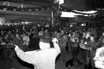 19841219 Bläserchor zum Weihnachtsfest