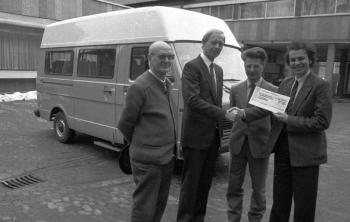 19850125 20 000 Spende Volksbank