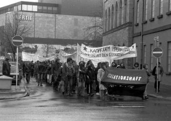 19850200 Demo gegen Isolationshaft
