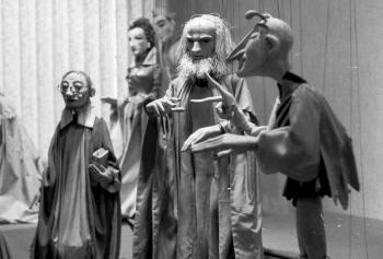 19850313 Puppenspieler H. Siegel 1
