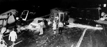 19850315 Unfall BAB PKW LKW