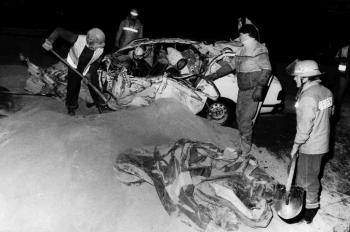 19850315 Unfall BAB PKW LKW 3