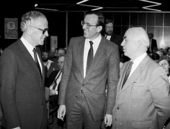 19850321 Vogel, Prof. Hesse, Prof Kamp