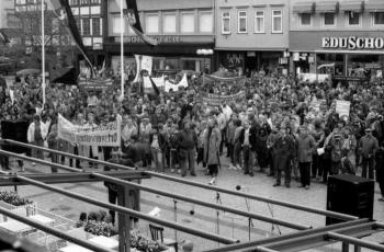 19850501 Maifeier Kundgebung