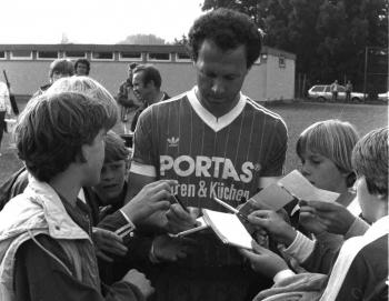 19850516 05 Bayern München Beckenbauer 1