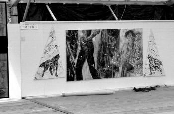 19850531 15. Kunstmarkt Andreas Lemberg