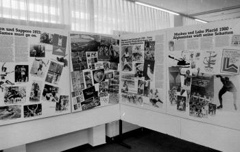 19850608 Ausstellung Volksbank Olympische Spiele