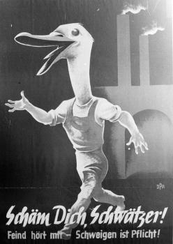 19850806 Museum Plakat aus der Nazizeit