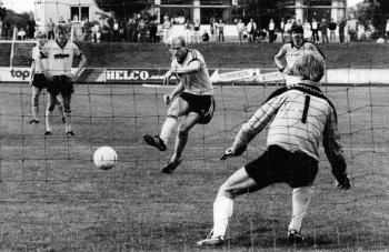 19850810 Göttingen 05 gegen Arminia, 2-2. Köppe