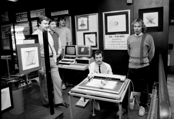 19850910 Prager Schule, Computer Grafik