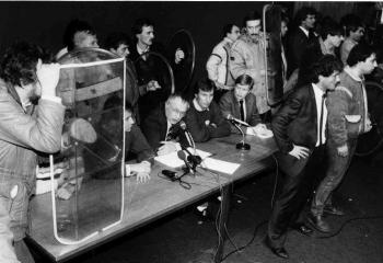 19860115 CDU Geißler Uni Hörsaal 1
