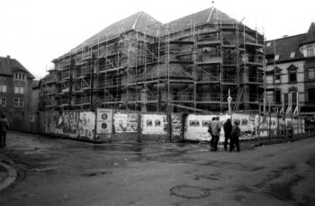 19860400 Baustelle Nikolaikirche