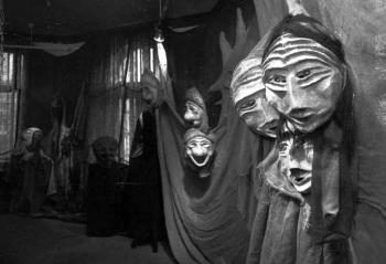 19860415 Masken Ausstellung Künstlerhaus