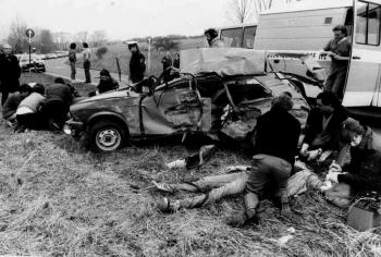 19860419 Unfall Krstr 569 Duderstadt