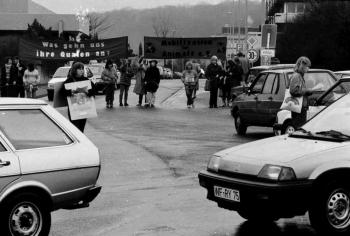 19860423 Blockade Tierschützer 1
