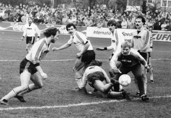 19861213 Göttingen05 - SVG, TW Hartmann,Fesser,Niemeyer,Porde