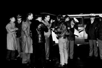 19861214 Unfall B 27 Polizist getötet 1