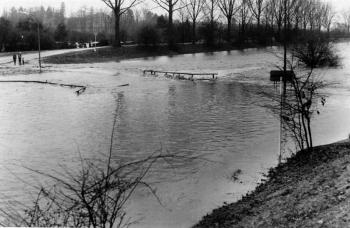 19861230 Leine Hochwasser 1