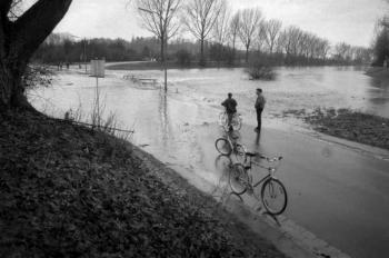 19861230 Leine Hochwasser