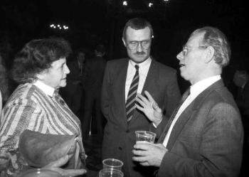 19870110 Neujahrsepfang Stadt, Nahnsen, Schierwater, Wintersi