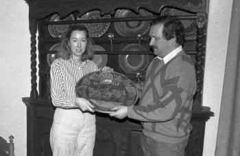 19870113 Volkstümliche Keramik im Alten Rathaus