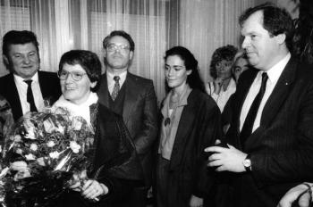 19870125 Bundestagswahl Familie Süßmuth, Fischer