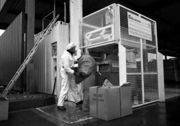 19870416 Weltneuheit, Müllbeseitigung, Uni