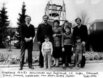 19870417 Friedland Rußland Heimkehrer